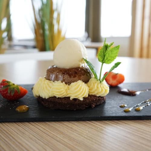 Dessert Chocolat Resto Poitiers
